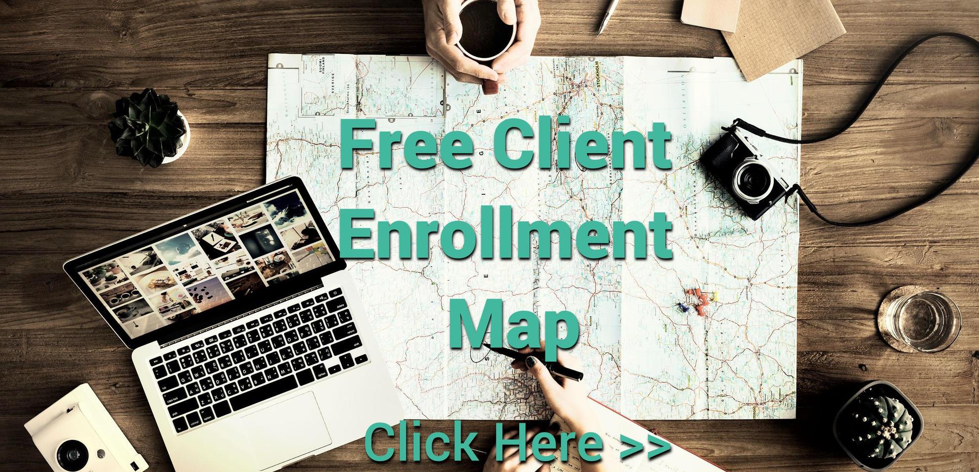 Client Enrollment Map